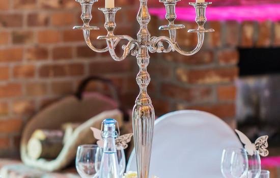 Capitol Yard Golf Lounge Hochzeit Kerzenständer