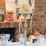 Capitol Yard Golf Lounge Hochzeit Kerzenständer gold