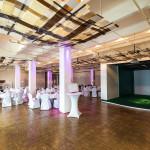 Capitol Yard Golf Lounge Hochzeit mit Golf Simulator