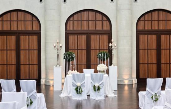 Deko, Blumendeko für Hochzeiten im Humboldt CarreFlorale Welten