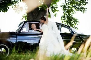 Der große Auftritt bei der Hochzeit