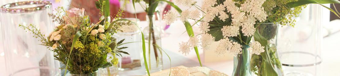 Hochzeitsdekoration – mehr als nur Blumen?
