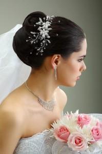 Braut Frisur Accessoire