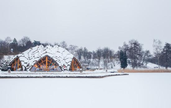 britzer seeterrassen winterhochzeit mit schnee