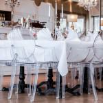 humbold terrasse weiße tafel