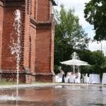 umweltforum berlin terasse mit springbrunnen