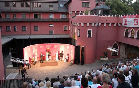 Lakeside Burghotel Strausberg mit Open Air Veranstaltung
