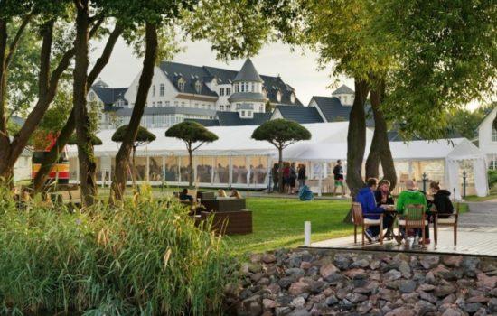 Parkanlage Precise Event Center Schwielowsee