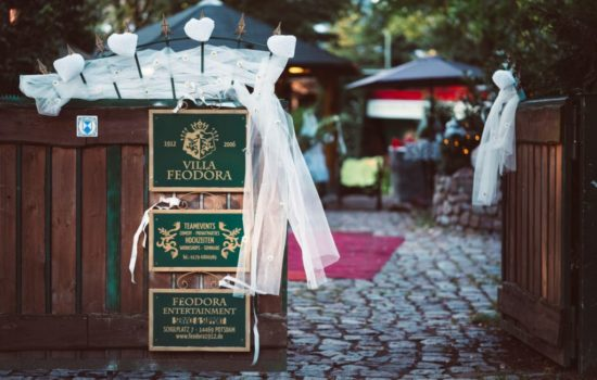 Hochzeit in der Villa Feodora