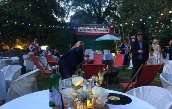 Feiern in der Villa Feodora