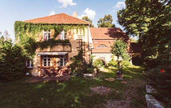 Außenansicht der Villa Feodora