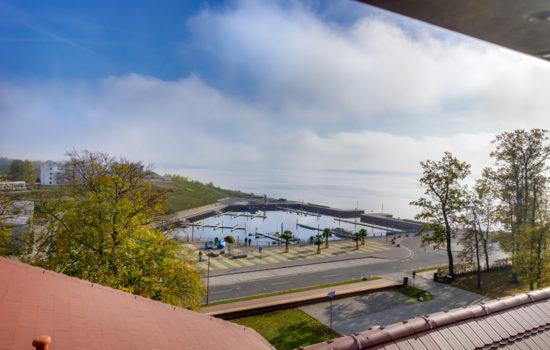 Blick vom Seehotel Großräschen