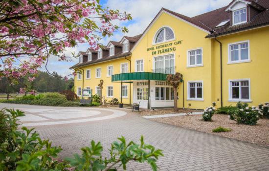 Außenansicht vom Ferien Hotel Fläming