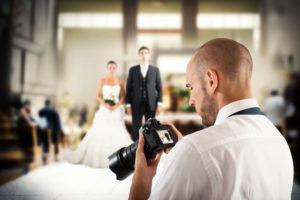 Fotoshooting beim Hochzeitsfotografen