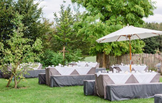 Open Air Hochzeit im Paulinen Hof