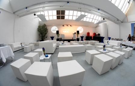 Innenraum der Forum Factory Berlin